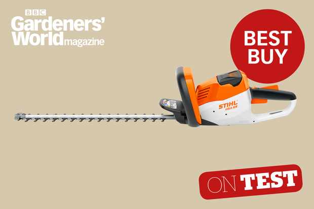Stihl HSA 56 hedge trimmer review from BBC Gardeners' World Magazine