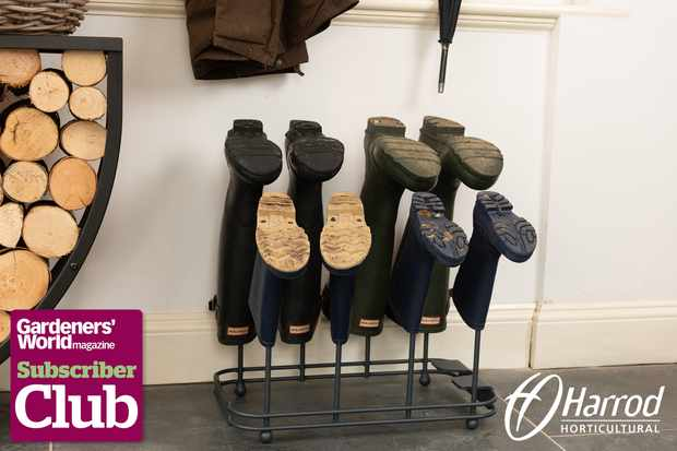 Subscriber Club competition: Win a Welly Boot Station from Harrod Horticultural