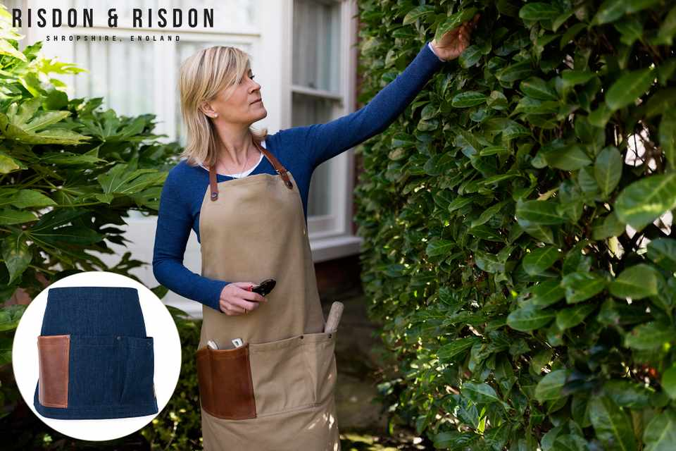 Win a gardener's apron from Risdon & Risdon