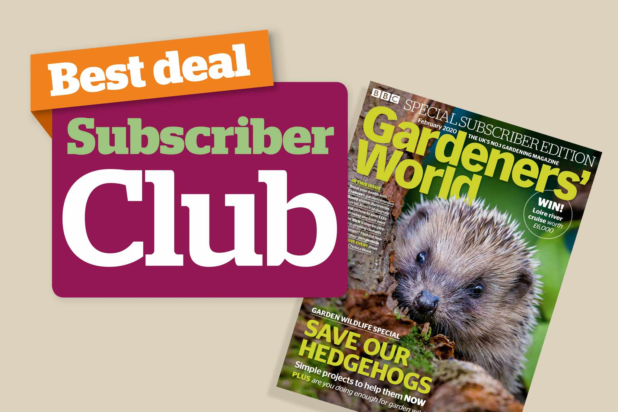 Subscribers save 10% with our selected partners. New February issue cover.