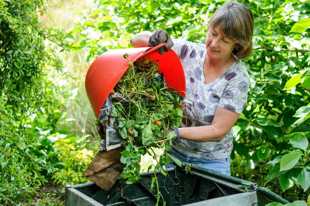 Reduce your carbon footprint - compost waste