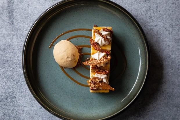 Banoffee dessert at Seasons restaurant