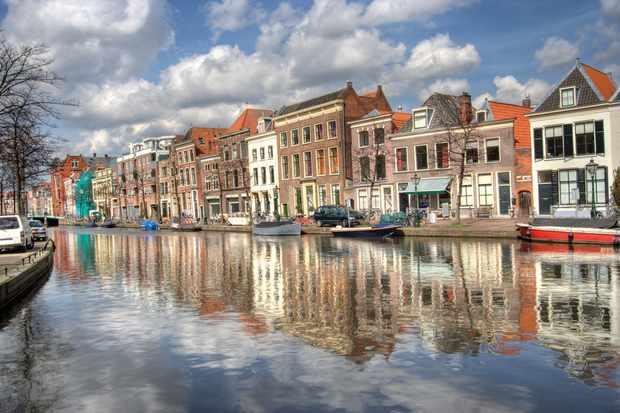 Canalsides of Leiden
