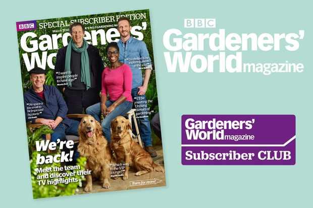 BBC Gardeners' World Magazine subscription queries