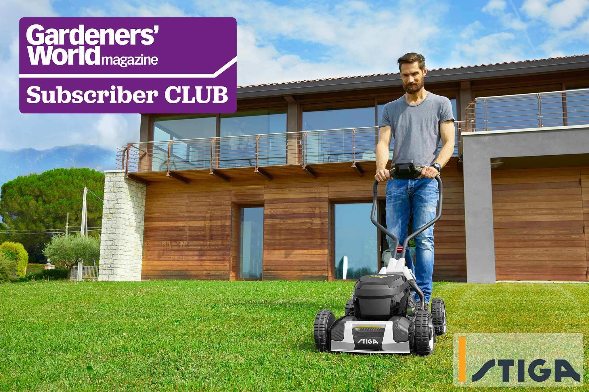Subscriber Club: Win a battery-powered Stiga lawnmower, worth £2,999