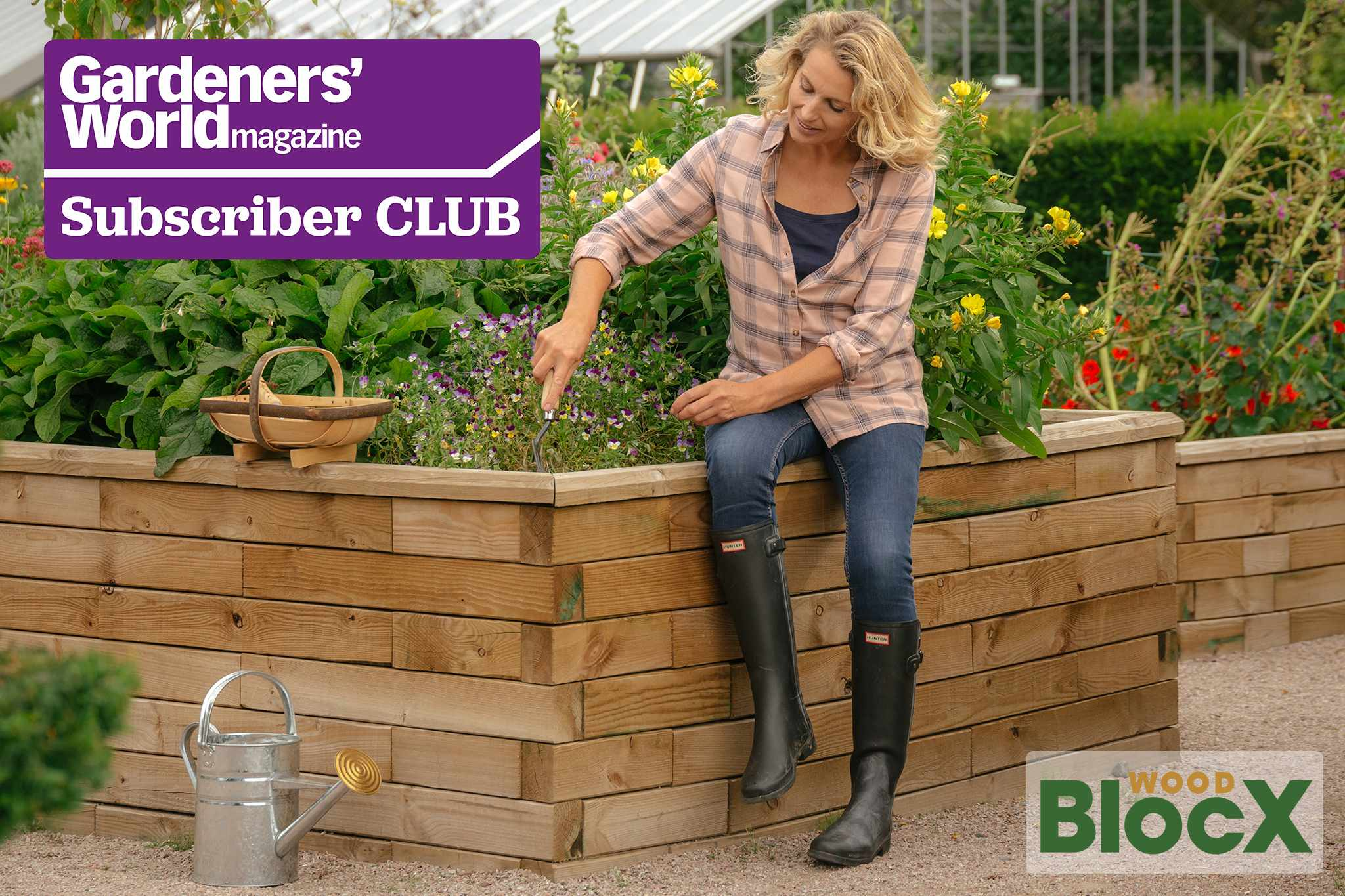 Subscriber Club: Win a garden makeover worth £3,000 from WoodBlocX