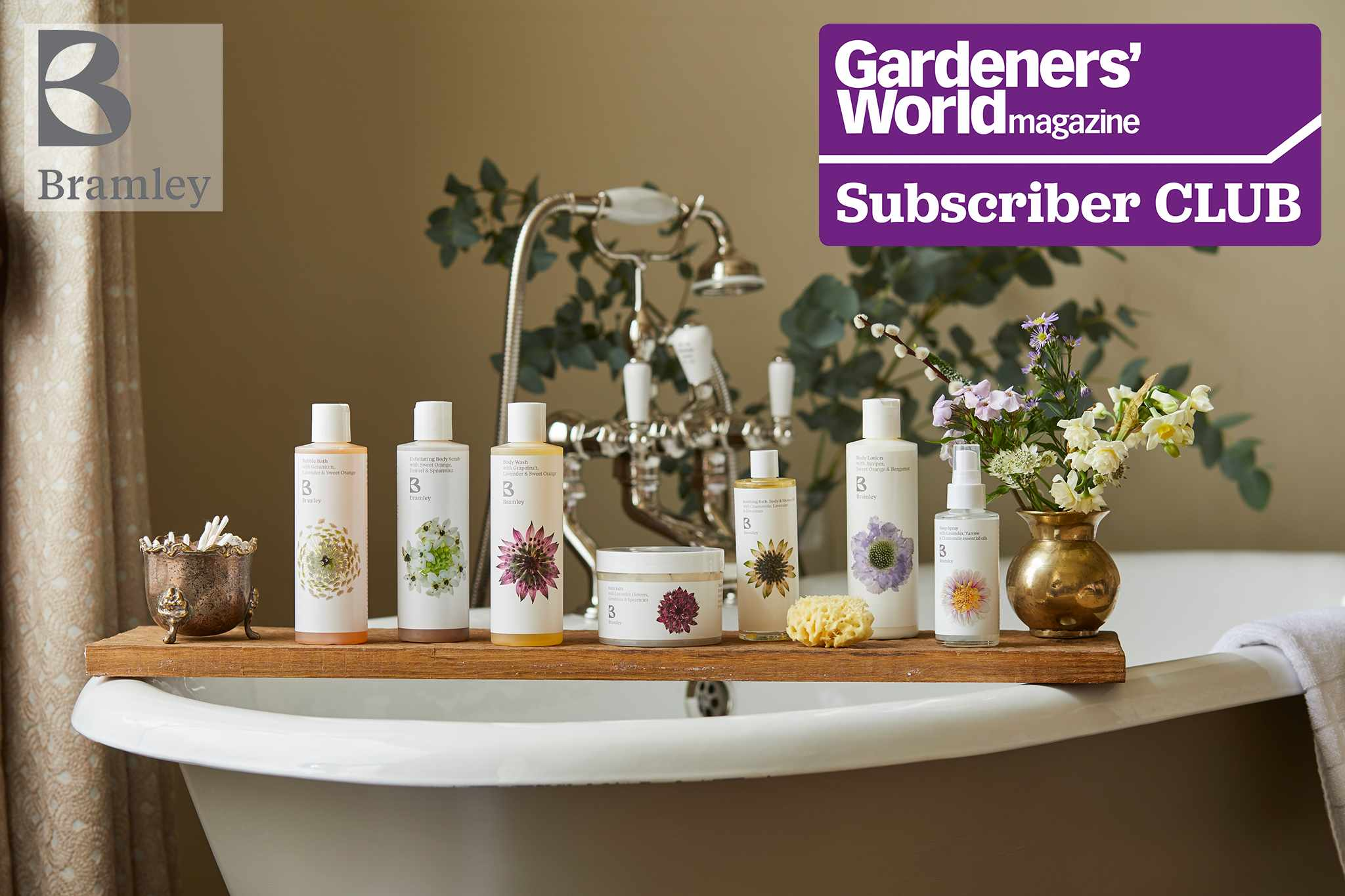 Win over £210 worth of Bramley products in exclusive Subscriber Club competition