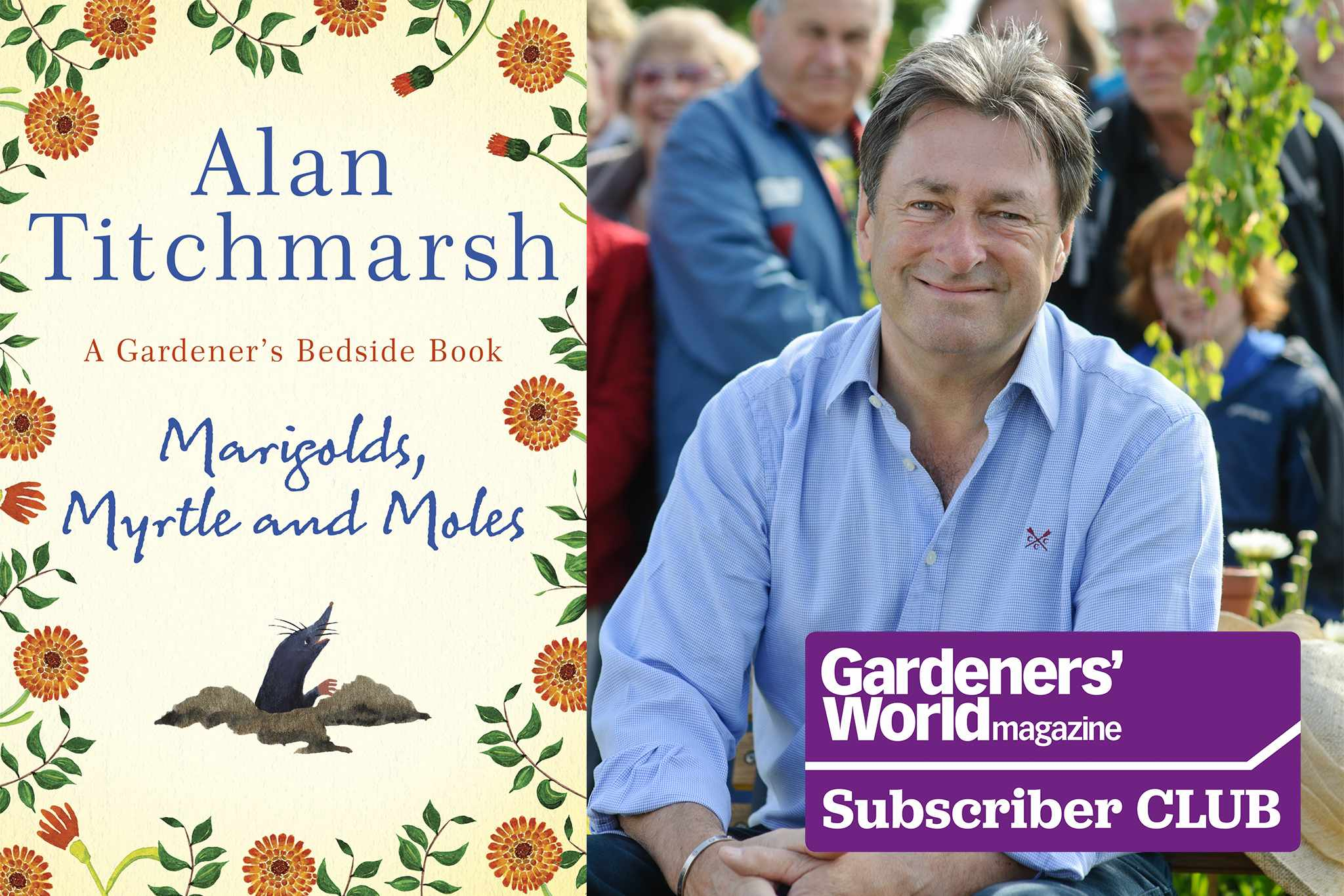 Win a signed, hardback copy of Alan's new book
