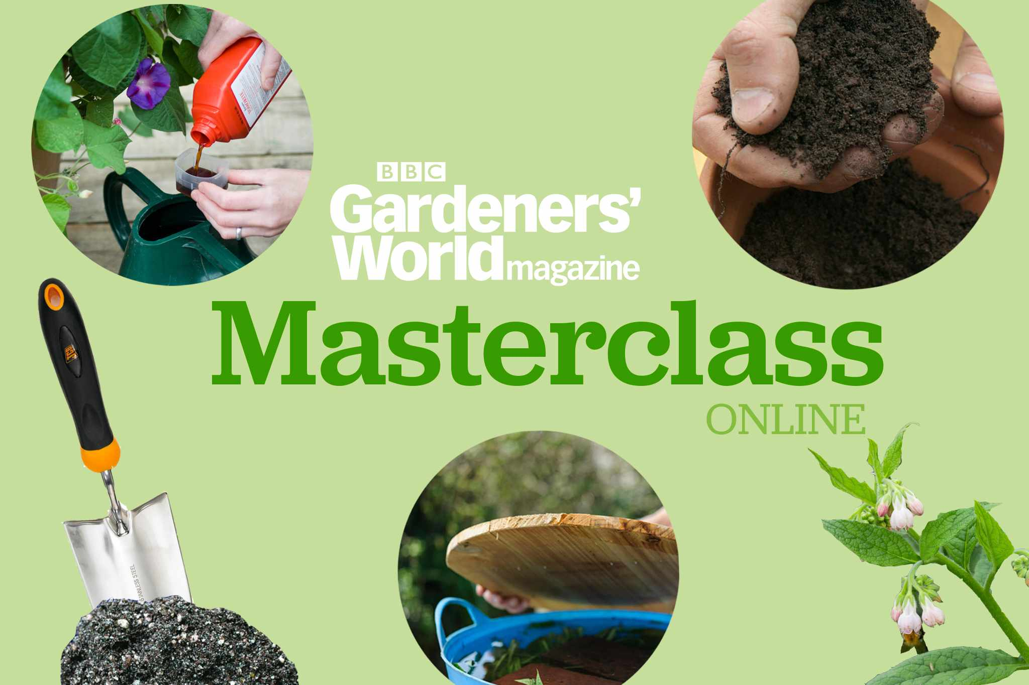 Masterclass Online: Compost and Feeding