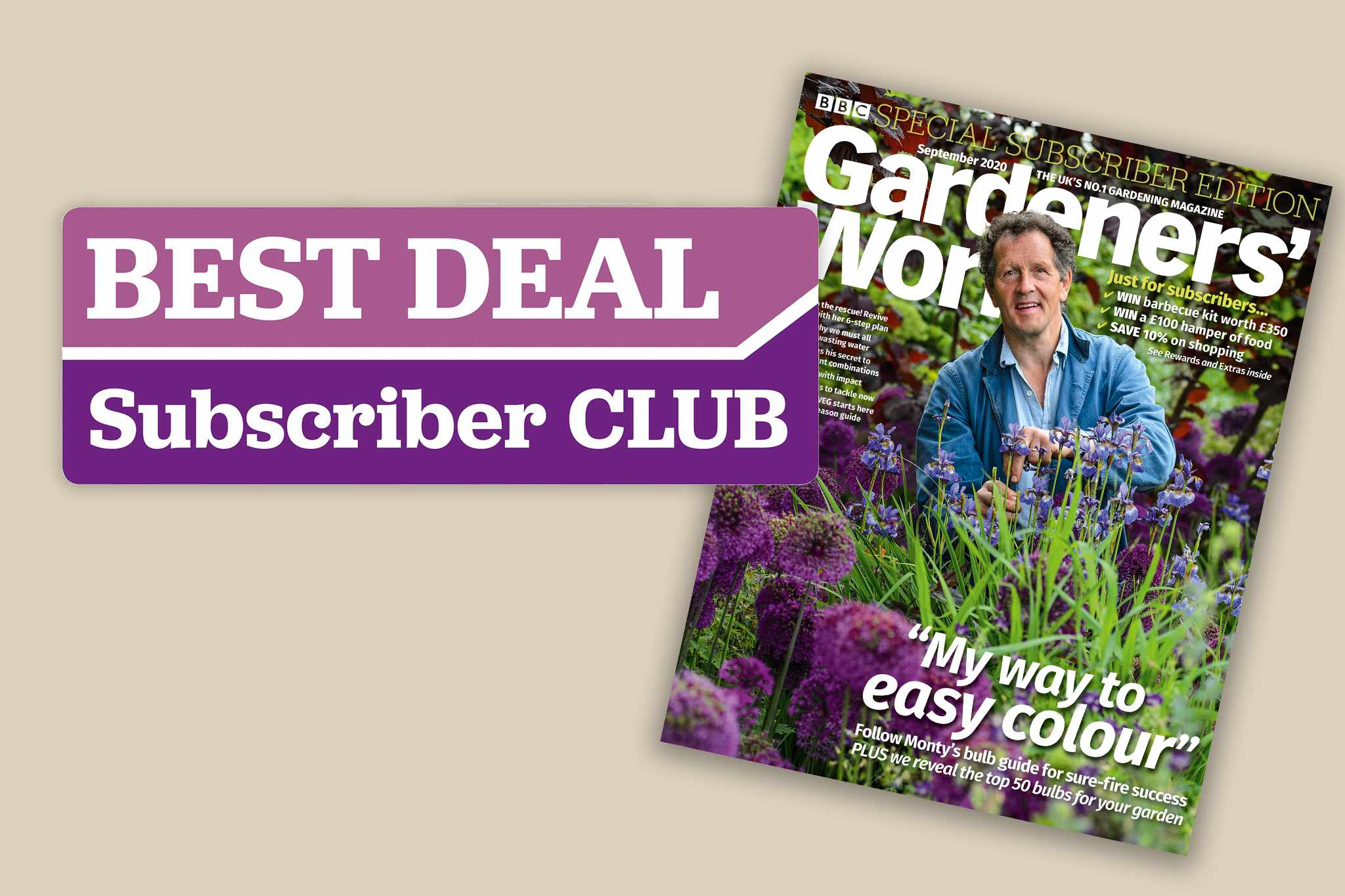 Subscriber September issue, save on Subscriber Club offers