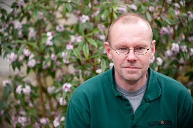 Head Gardener, Andy Stevens
