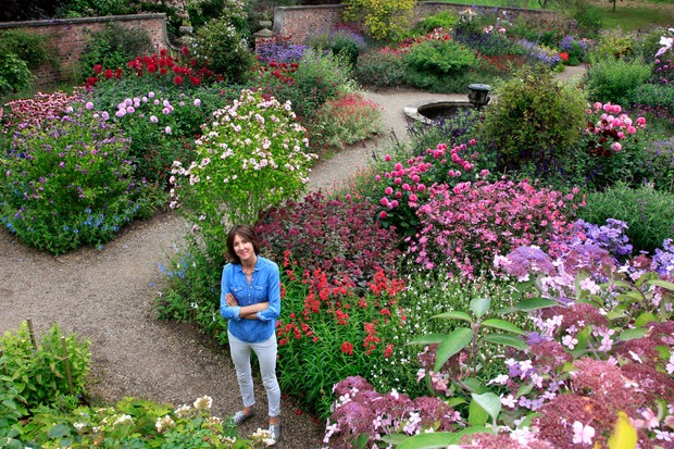 Lucinda Compton, Owner and Curator of gardens at Newby Hall