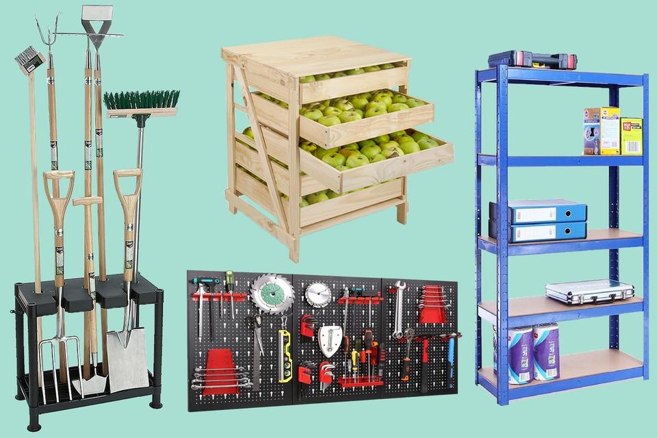 10 Of The Best Shed Storage Ideas Bbc, Garden Shed Storage Ideas Uk