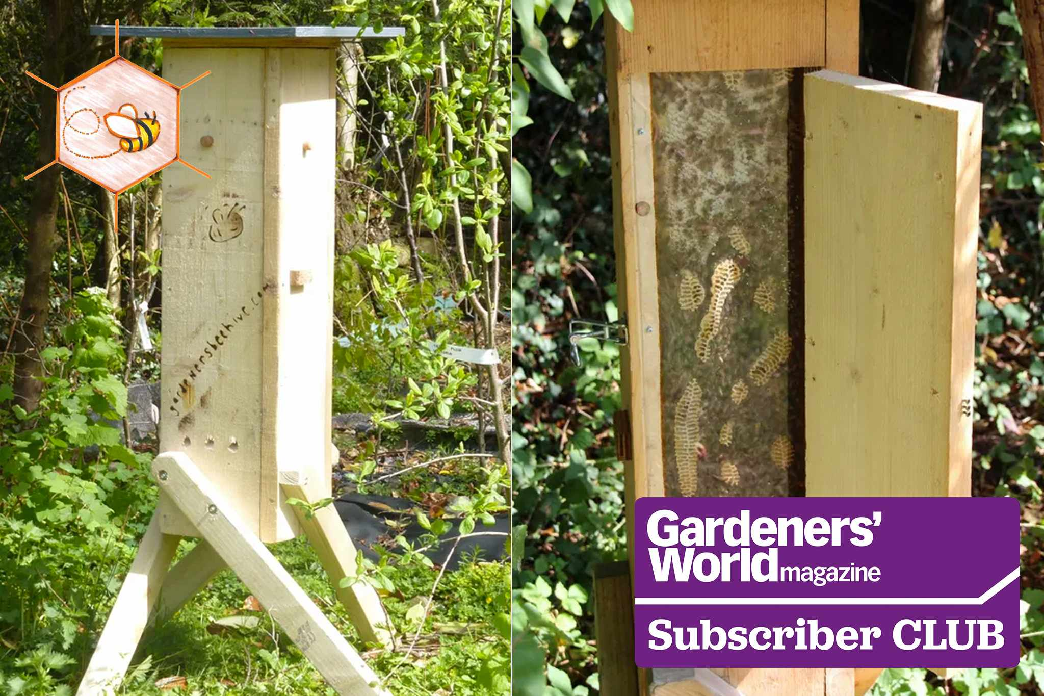 Win a Gardeners Beehive, worth £300 - Subscriber Club exclusive