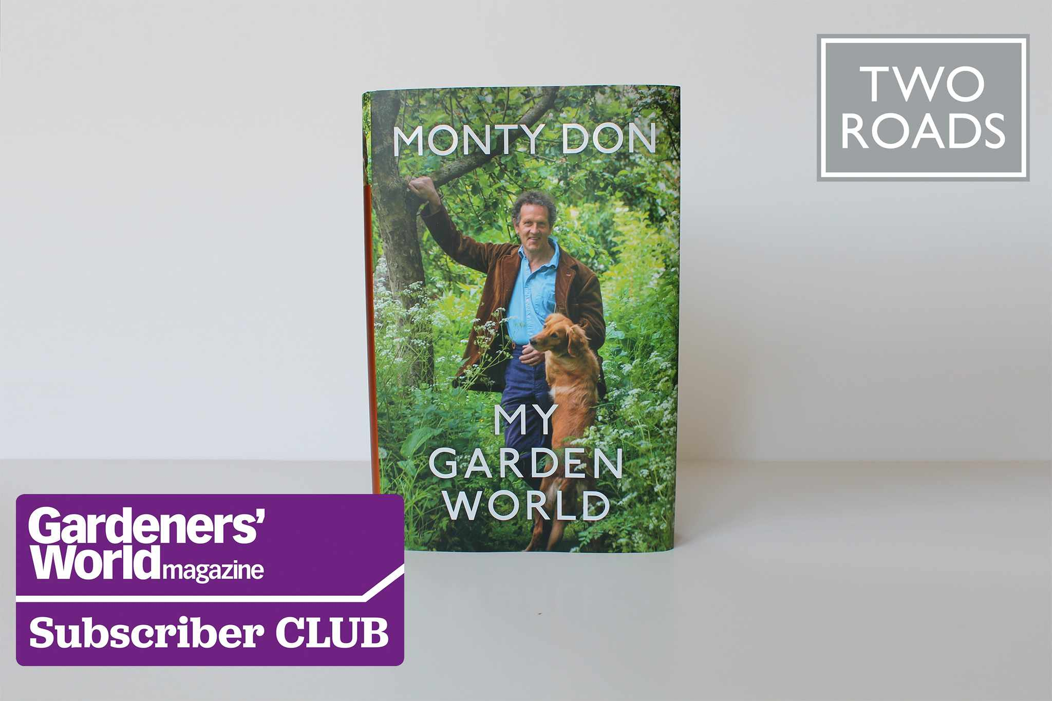 Win a copy of Monty's book My Garden World in exclusive Subscriber Club competition
