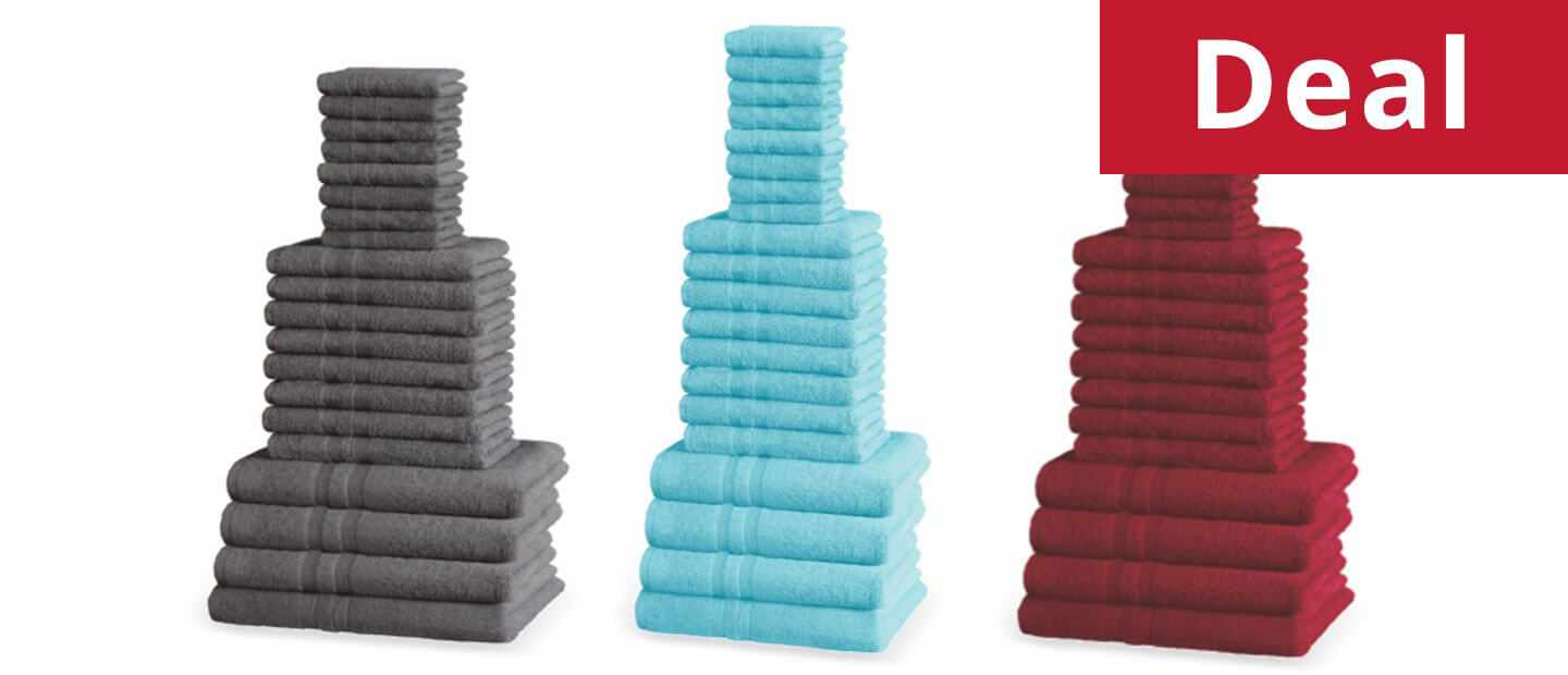 10 Piece Camden towels