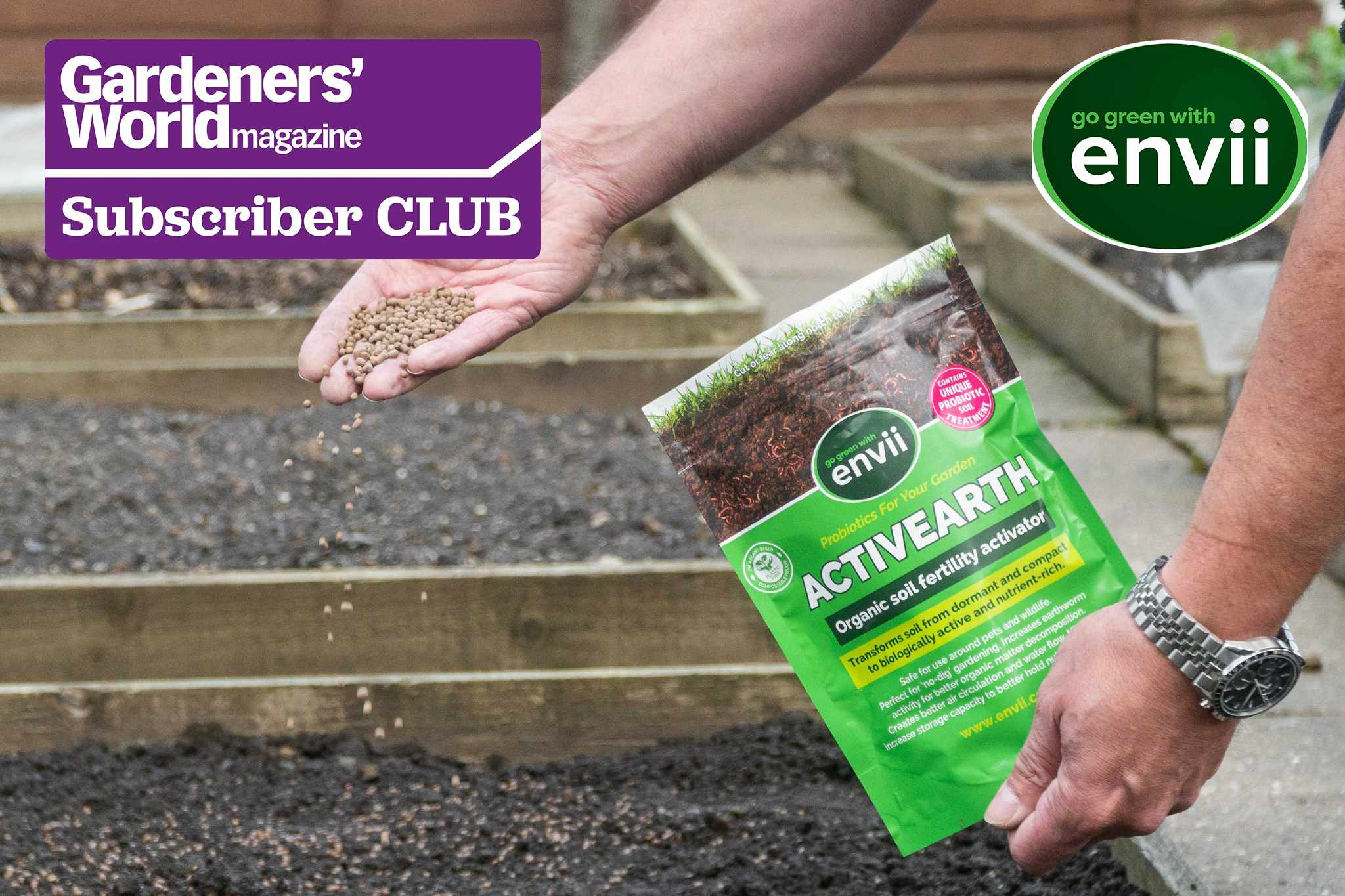 Subscriver Club: Win one of 10 organic garden bundles from Envii