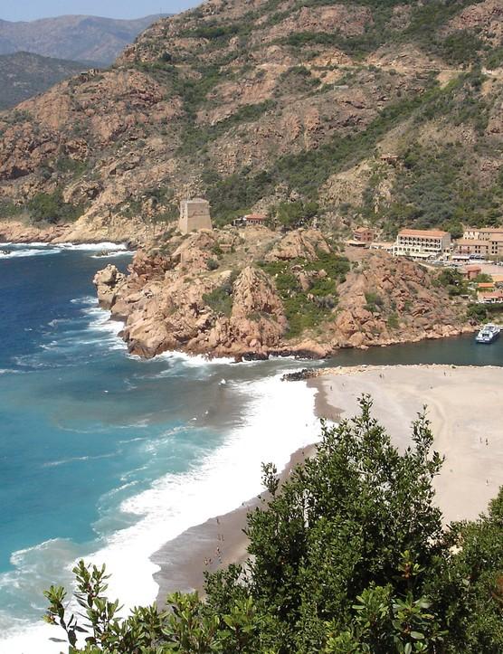 Pristine Corsican beaches