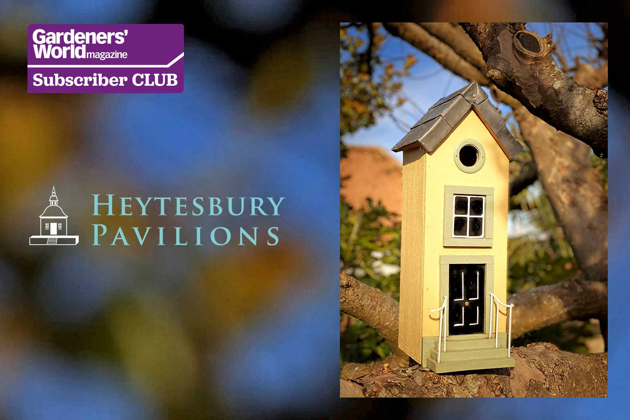 Win a Heytesbury Pavilions Town House Nesting Box