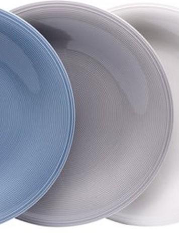 Villeroy & Boch Vivo Color Loop Dinner Plate Set