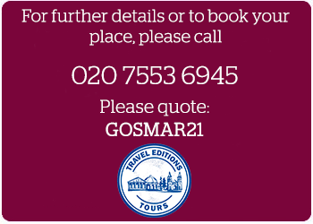 Travel Editions booking details