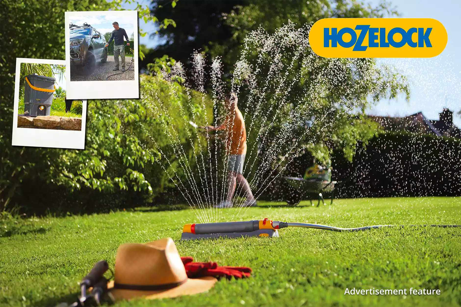 Win a watering bundle from Hozelock worth £685