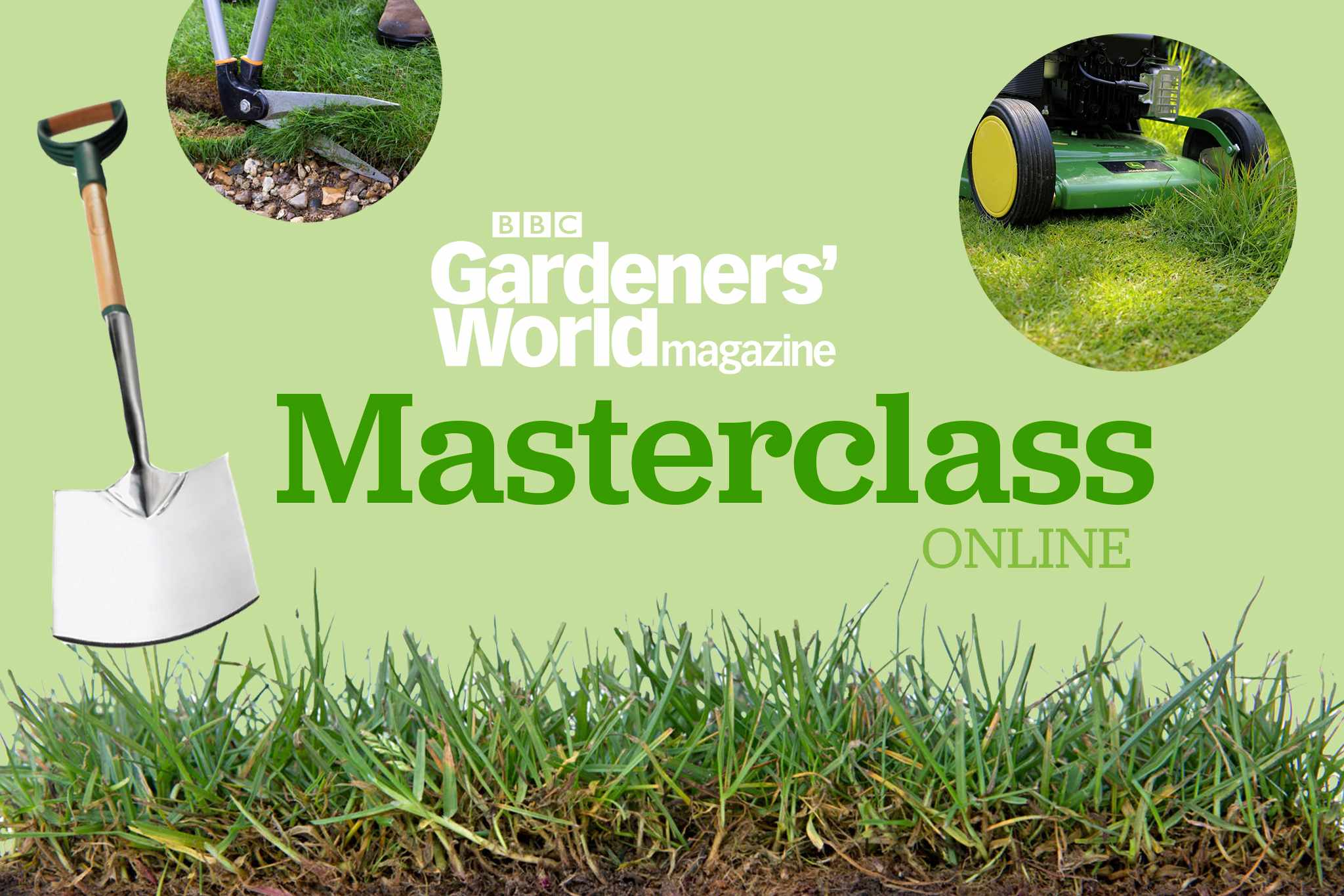 Essential Spring Lawn Care Masterclass Online - 16 April 2021
