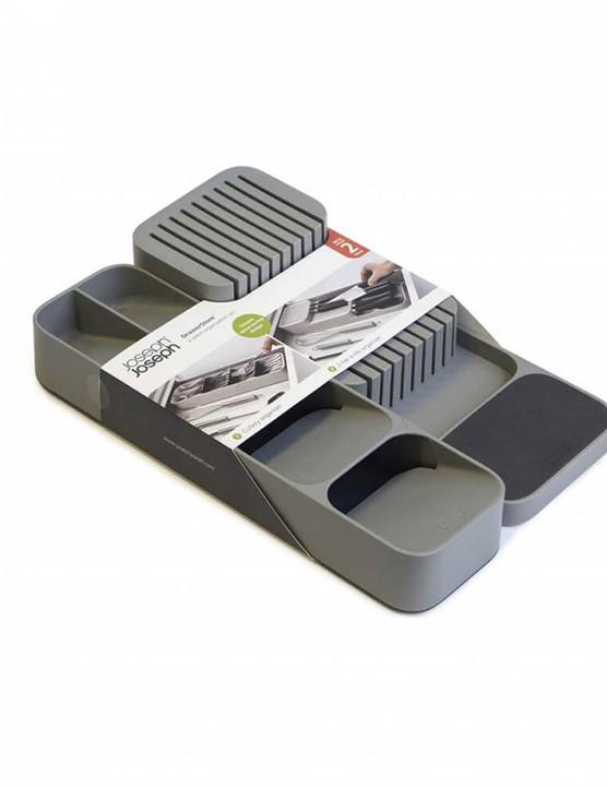 Joseph Joseph DrawerStore™ Cutlery & Knife Organiser Set, Bundle of 2