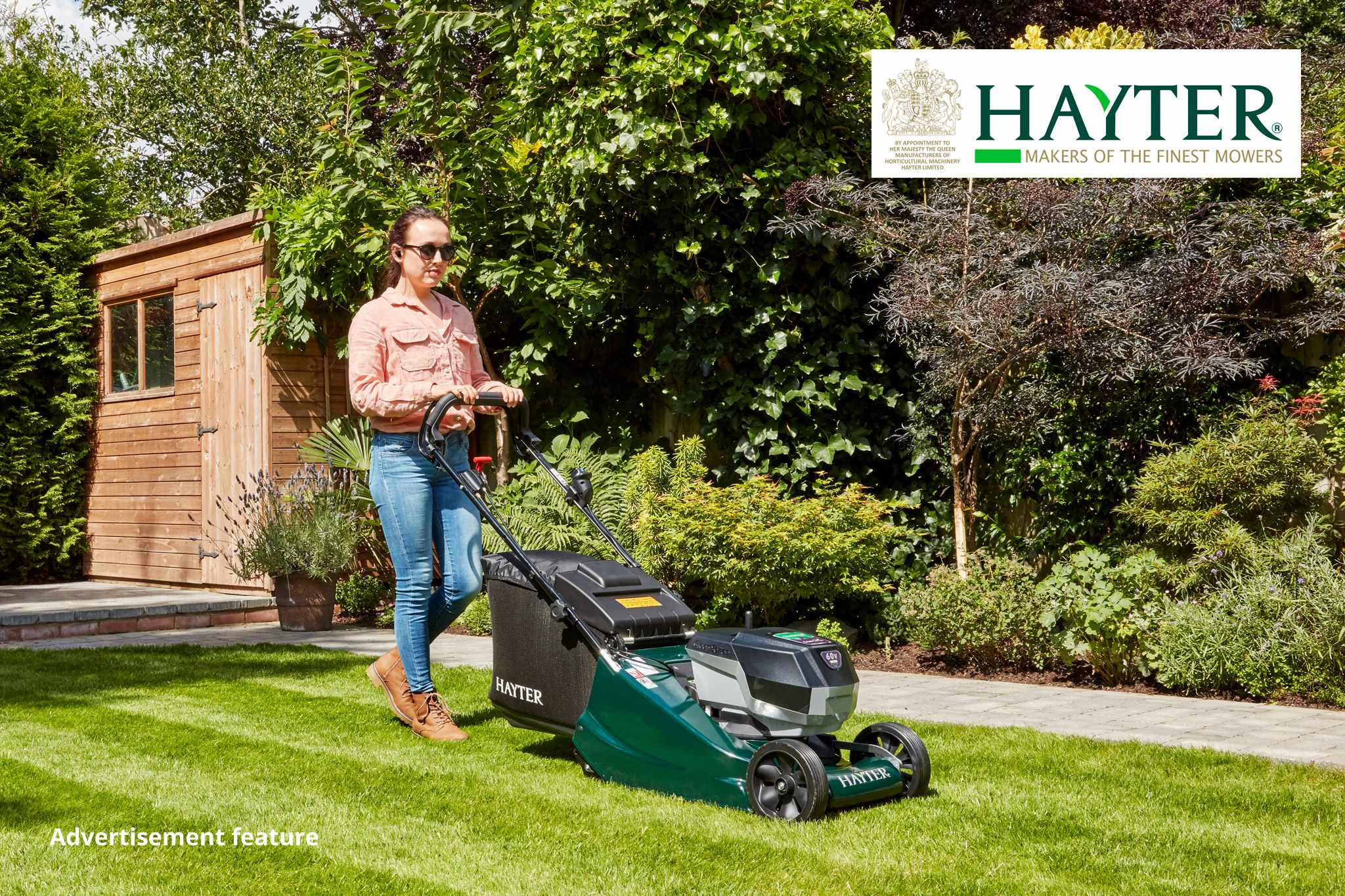 Hayter competition - win a cordless lawnmower and trimmer. BBC Gardeners' World Magazine