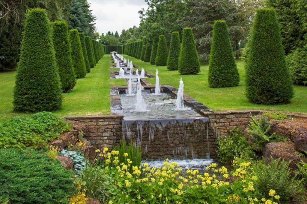 The Rill Garden at Thenford Arboretum