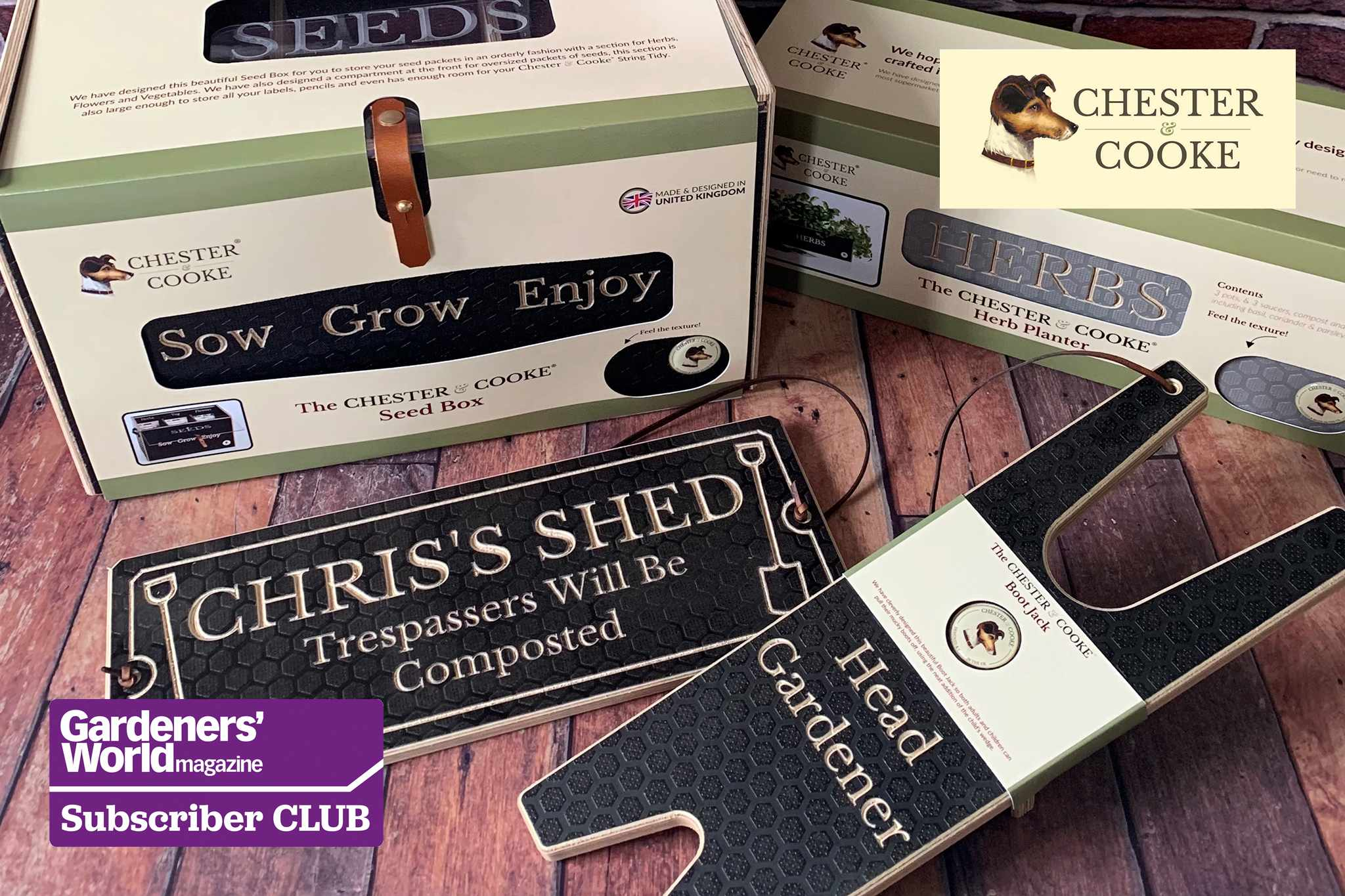 Win one of two garden accessory bundles from Chester & Cooke - BBC Gardeners' World Magazine