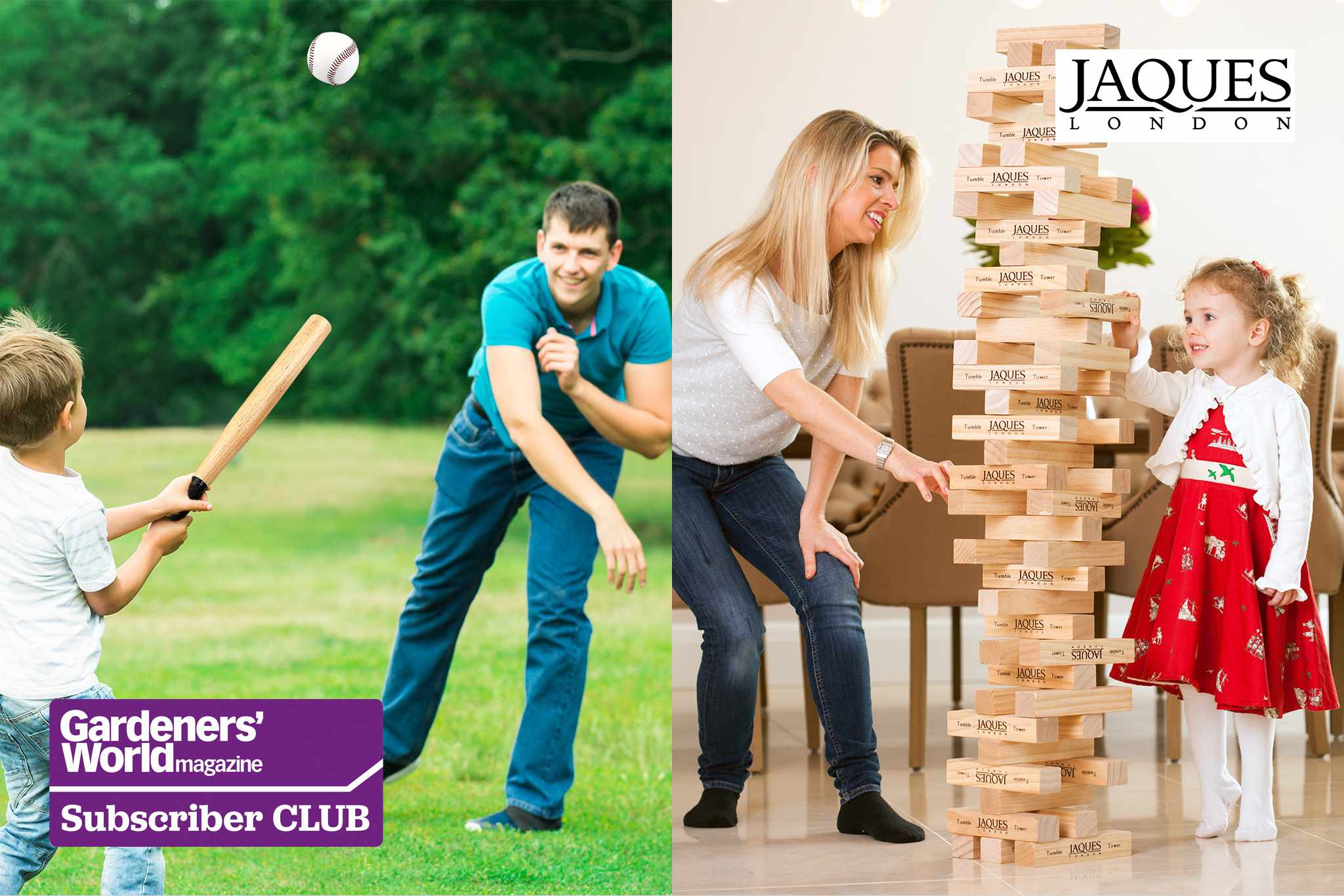 Win a set of outdoor games from Jaques - BBC Gardeners' World Magazine