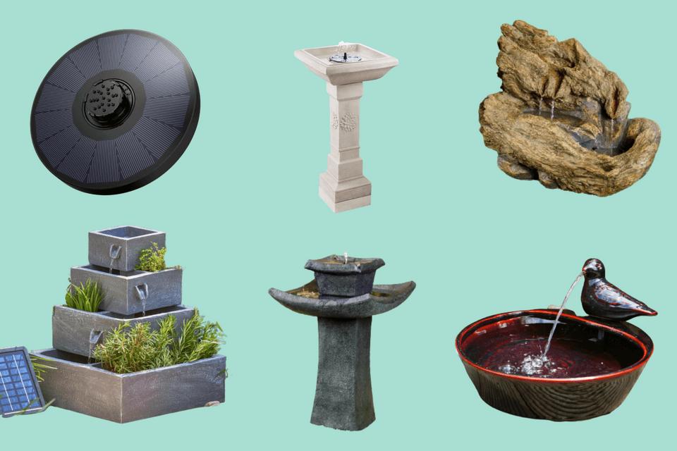 14 Of The Best Solar Water Features, Outdoor Solar Water Features Uk