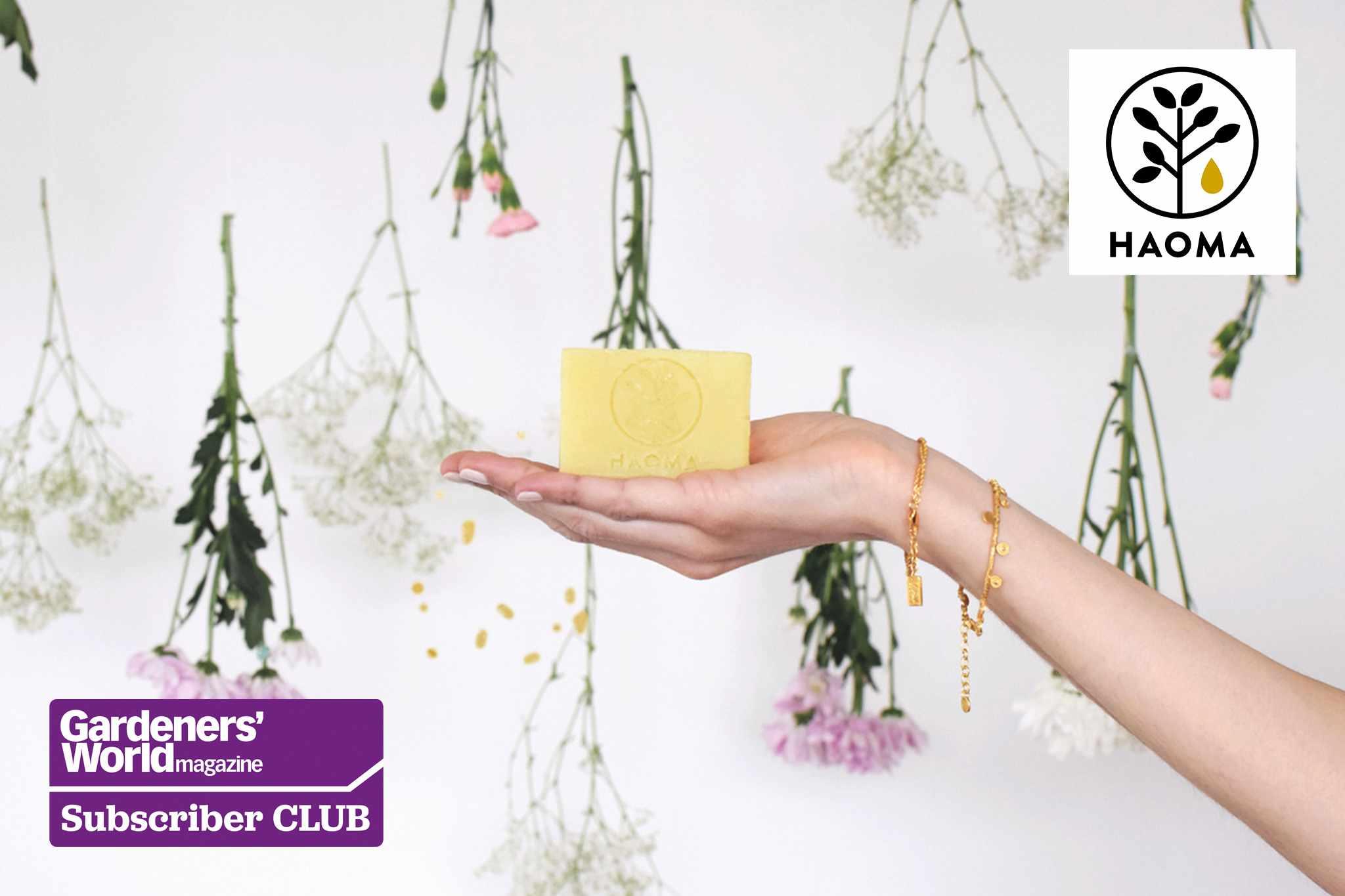 Win an organic beauty bundle from Haoma - BBC Gardeners' World Magazine