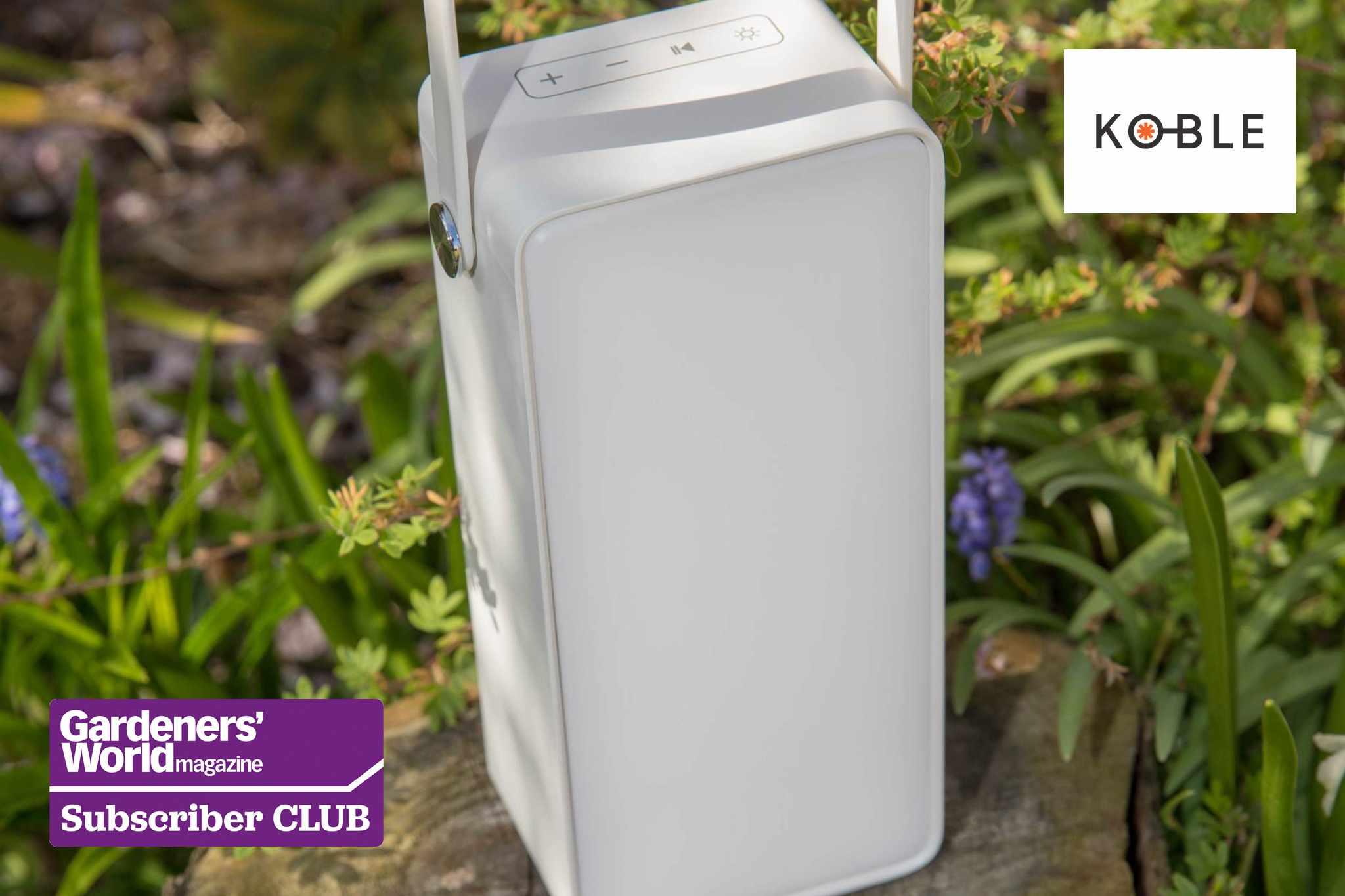Win a Bluetooth speaker from Koble - BBC Gardeners' World Magazine