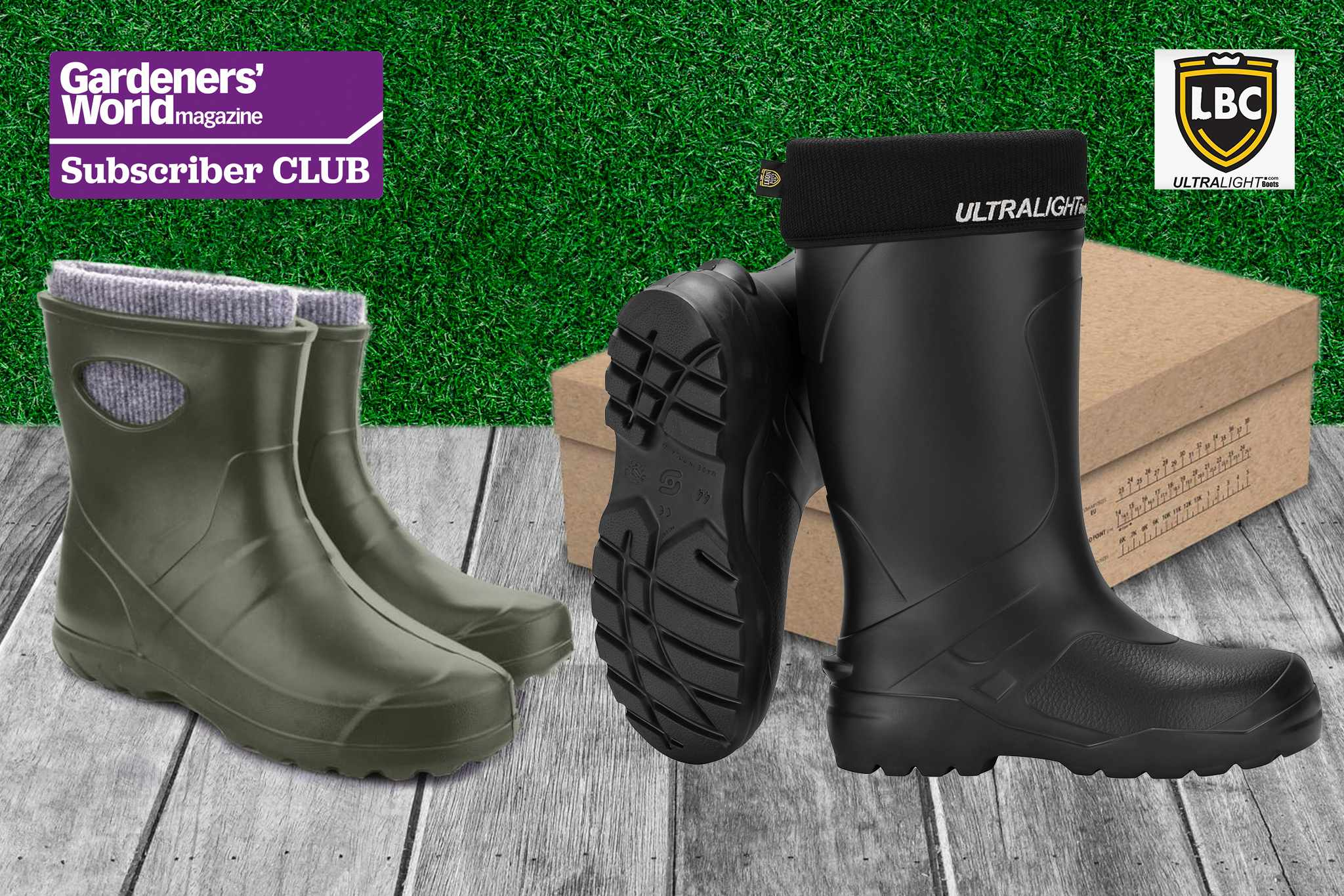 Win a new pair of wellingtons from Leon Boots Co