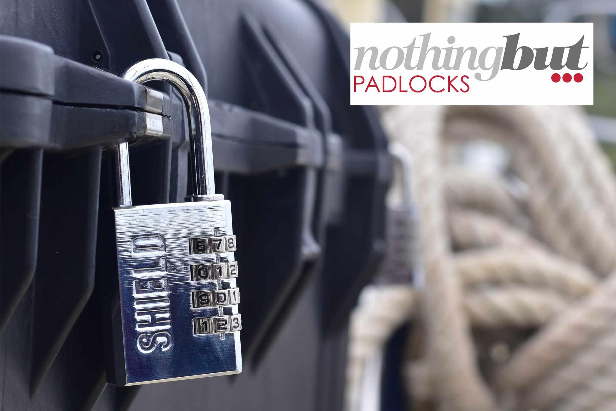 Win a padlock bundle from Nothing But Padlocks