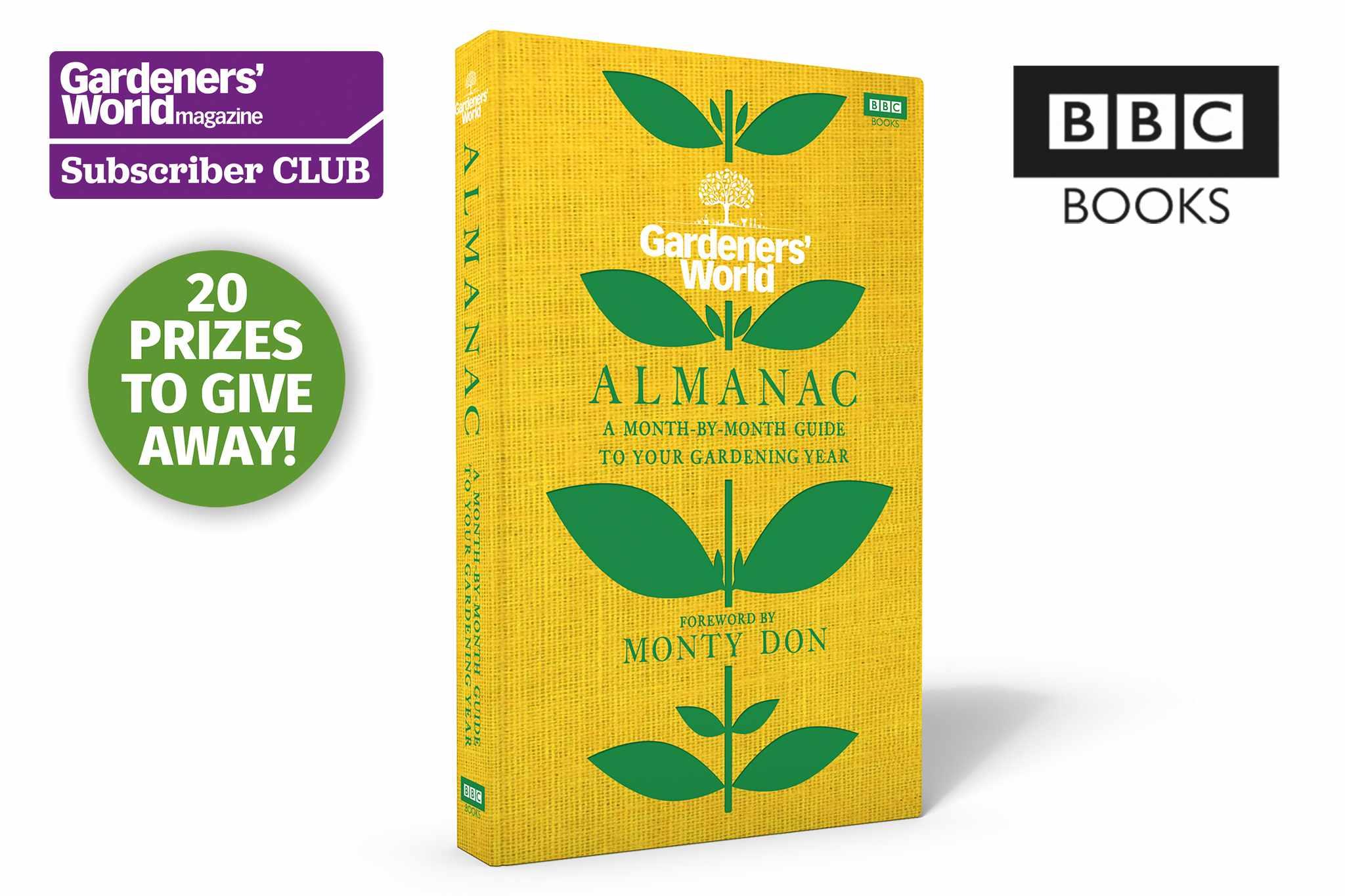 Win a copy of the Gardeners' World Almanac - BBC Gardeners' World Magazine