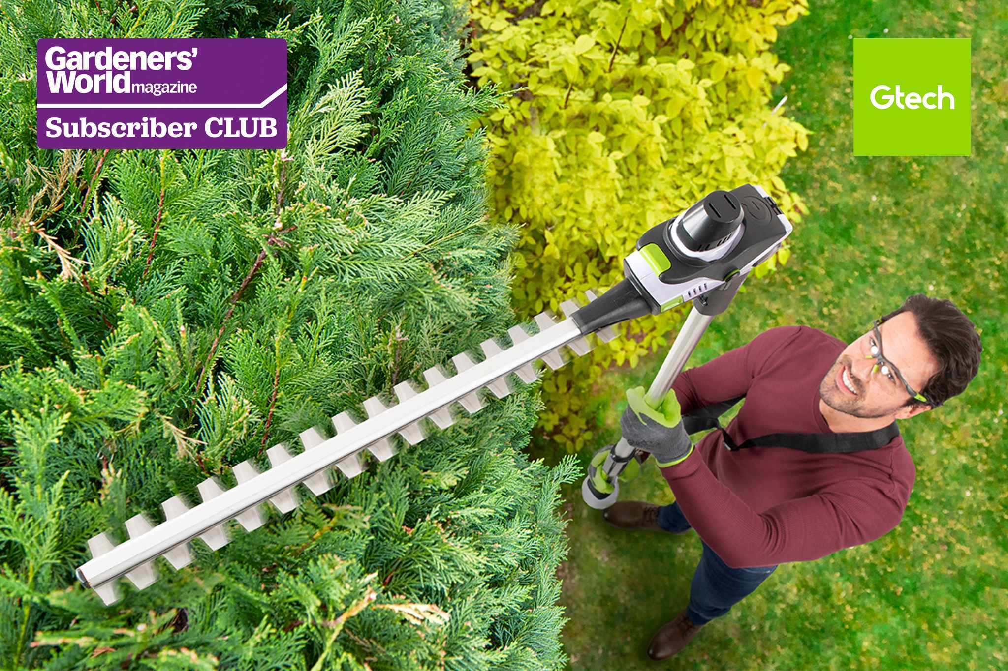 Win a cordless hedge trimmer from Gtech - BBC Gardeners' World Magazine