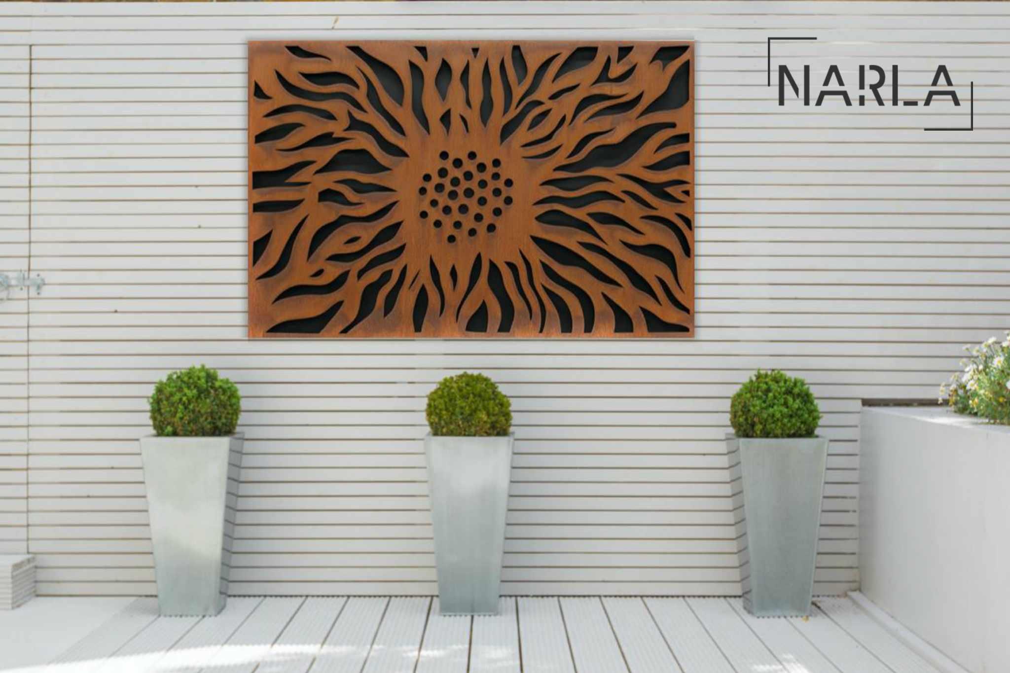 Win a metal artwork for your garden