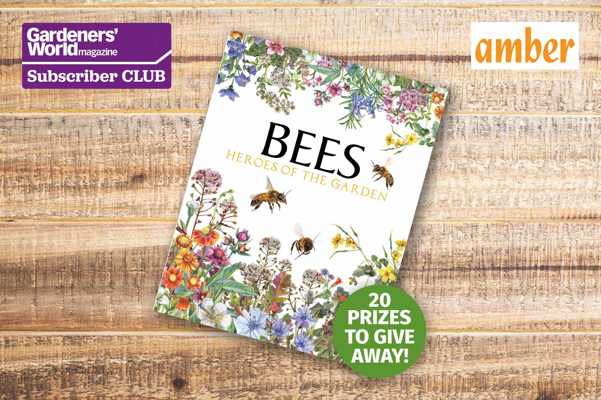 Win a copy of Bees: Heroes of the Garden - BBC Gardeners' World Magazine