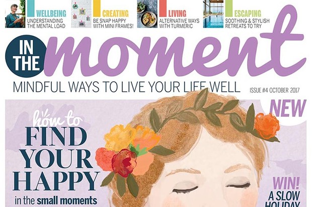 In The Moment Magazine issue 4 cover