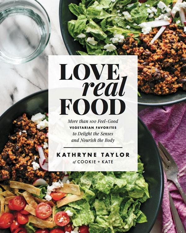 Love Real Food vegetarian cookbook