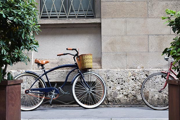 Bicycle in Milan