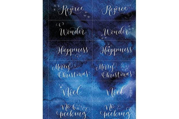 Gift tags rejoice
