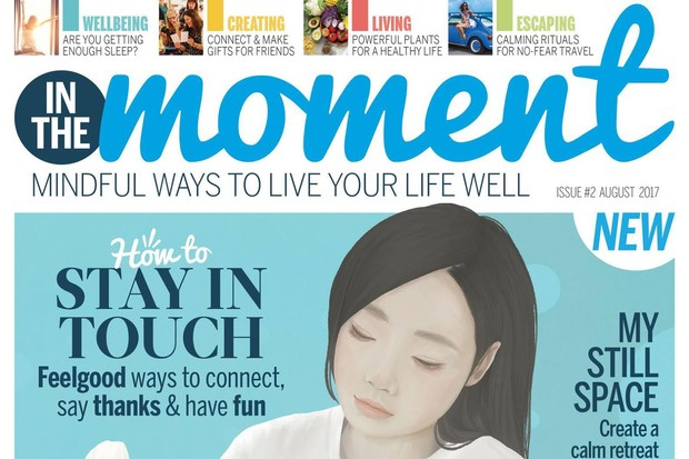 In The Moment issue 2 cover