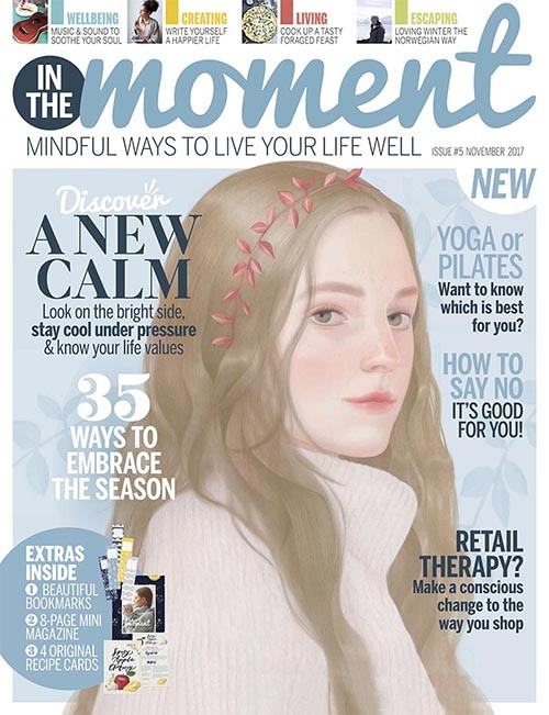 In The Moment Magazine issue 5 cover
