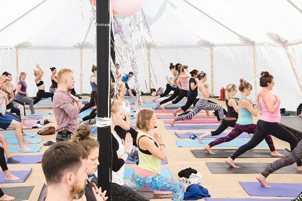 Soul Circus yoga class