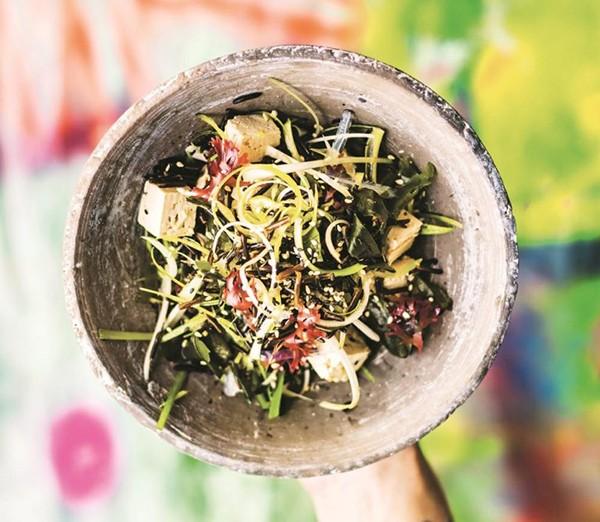 Wholefood salad recipes seaweed salad