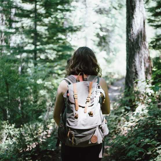Jake Melara woman walking